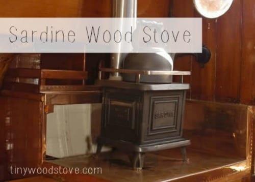 Tiny Wood Stove - Sardine - Sardine-stove Tiny Wood Stove