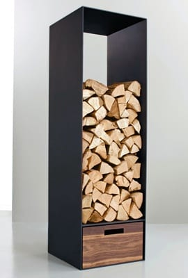 7 innovative beautiful ways to store firewood tiny wood stove. Black Bedroom Furniture Sets. Home Design Ideas