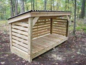 7 Innovative & Beautiful Ways to Store Firewood   Tiny