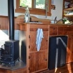 Hobbit Stove in Tiny House