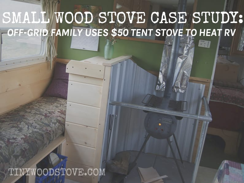 CASE STUDY: Tent Stove to Heat RV