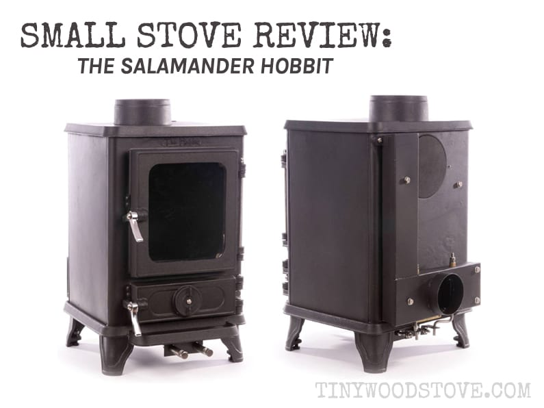 SMALL STOVE REVIEW: Salamander – The Hobbit - Nick@veggiemealmaker.com Tiny Wood Stove