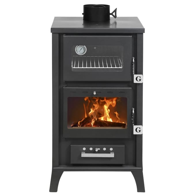 ... small-wood-cookstove-black ... - SMALL WOOD COOKSTOVE Tiny Wood Stove