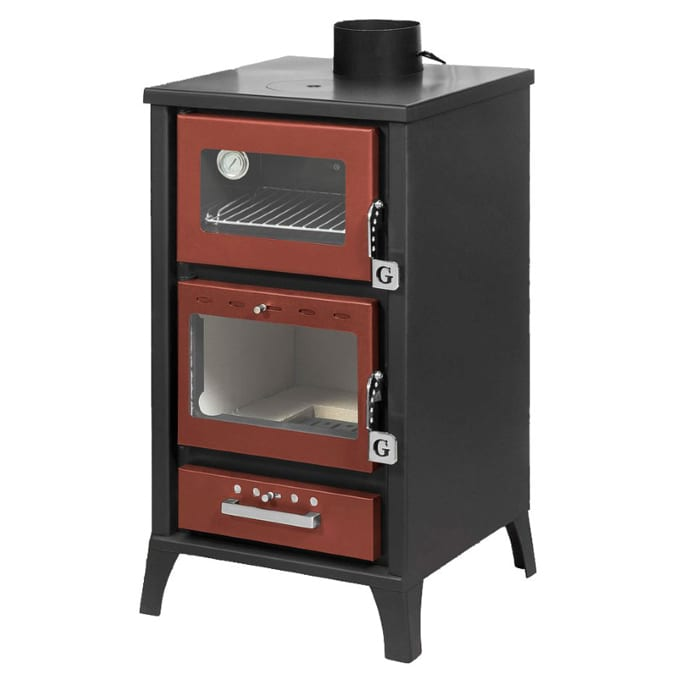 Small wood cookstove review tiny wood stove for Most efficient small wood burning stove