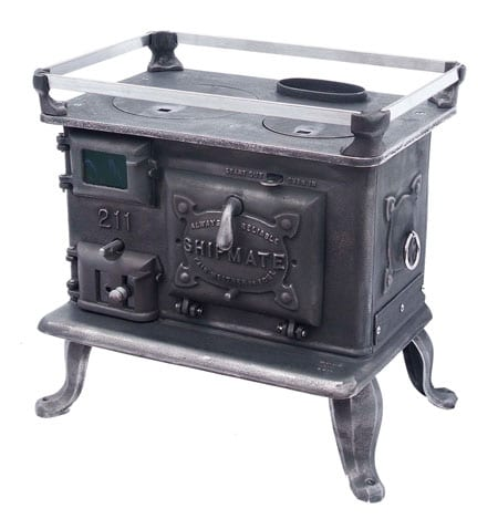 SHIPMATE MODEL 211 - Small Wood Cookstoves For Tiny Spaces Tiny Wood Stove