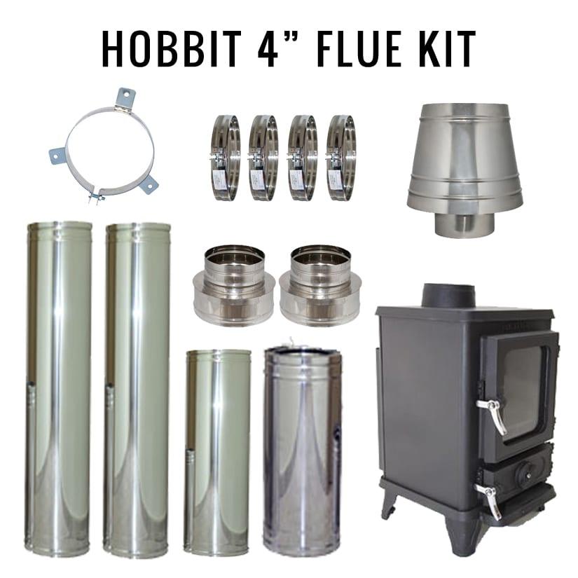 """4"""" Flue Install Kit"""