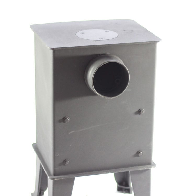 ... dwarf-4kw-rear-exit ... - SMALL STOVE: The Dwarf 4kw Tiny Wood Stove