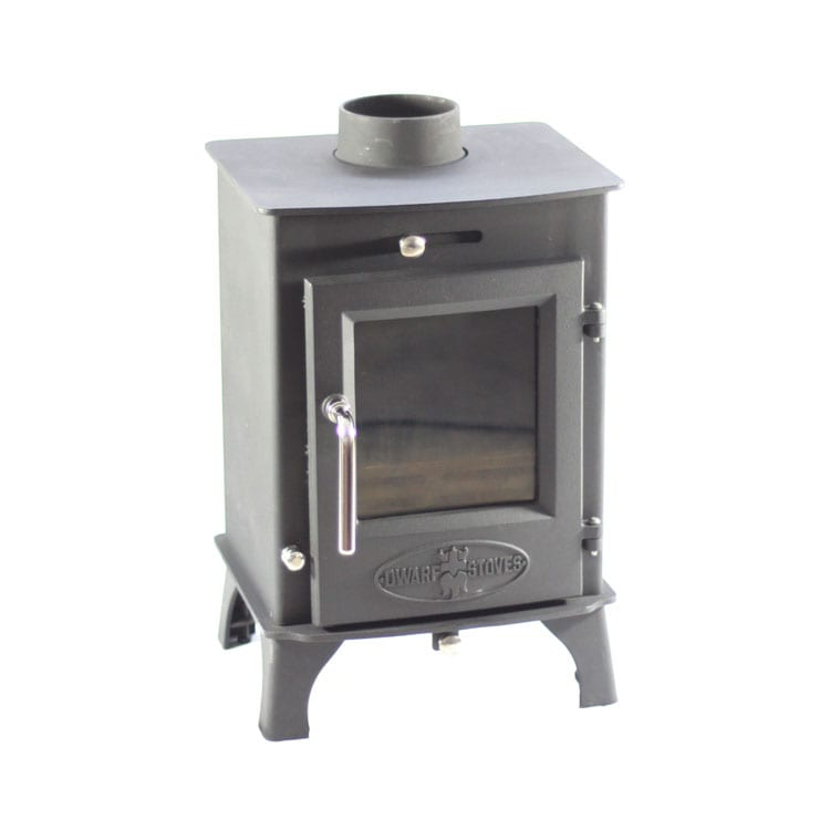 Dwarf 4kw Small Wood Stove - SMALL STOVE: The Dwarf 4kw Tiny Wood Stove