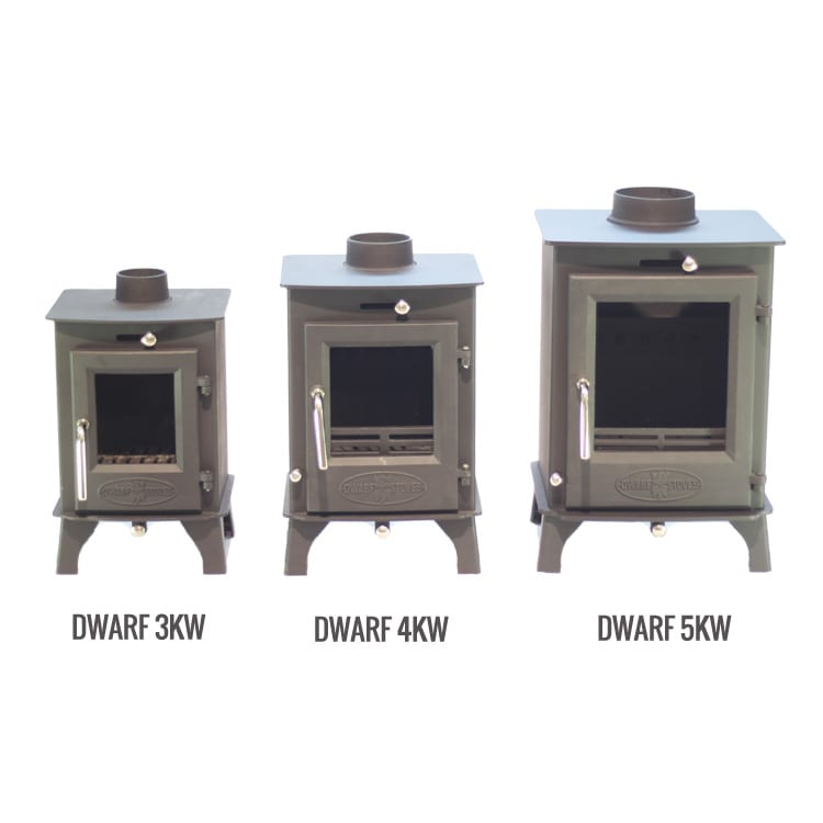 SMALL STOVE: The Dwarf 4kw - SMALL STOVE: The Dwarf 4kw Tiny Wood Stove